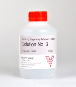 Solution No.3 for Reducing Sugars by Rebelein titration