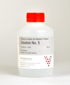 Solution No.5 for Reducing Sugars by Rebelein titration