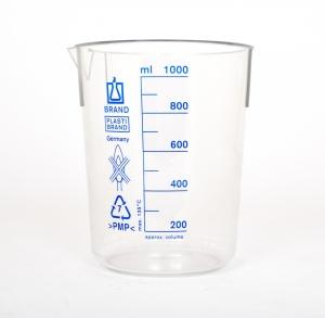 Beaker plastic 1000mL