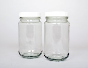 Jar glass screw-top