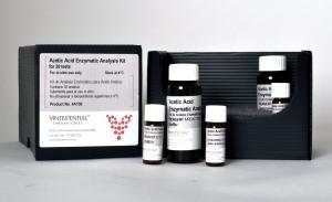 Enzymatic Test Kit: Acetic Acid 30 Tests