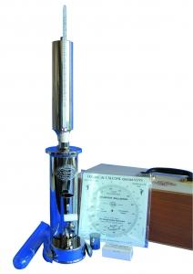 Ebulliometer for Wine complete in wooden case (Dujardin-Salleron)