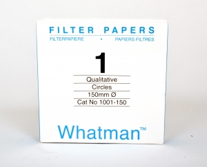 Filter paper Whatman No.1 150mm dia 11um 100 per pack