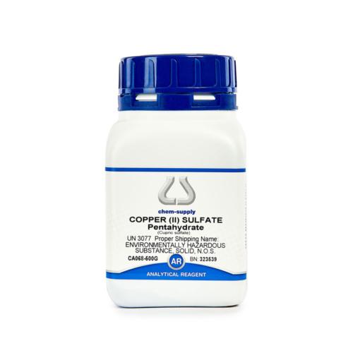 Copper II sulfate pentahydrate 500g