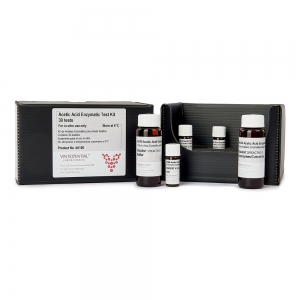 Enzymatic Test Kit 30 tests for measuring Acetic Acid in grape juice and wines by enzymatic assay for in vitro use only
