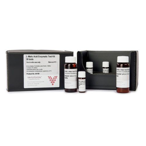 Enzymatic Test Kit 30 tests for measuring L-malic acid in grape juice and wine for in vitro use only