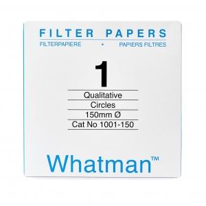 Filter paper Whatman No 1 150mm dia 11um 100 per pack