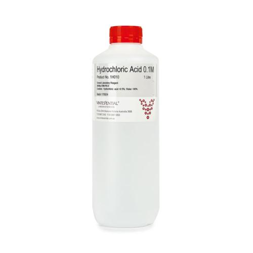 Hydrochloric acid 0-100M 1L