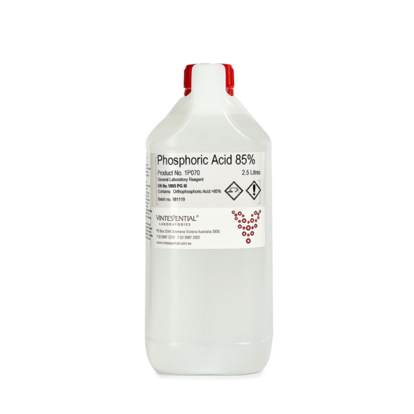 Phosphoric acid 85 percent 2.5L