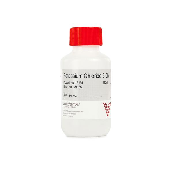 Potassium chloride 3M 125mL