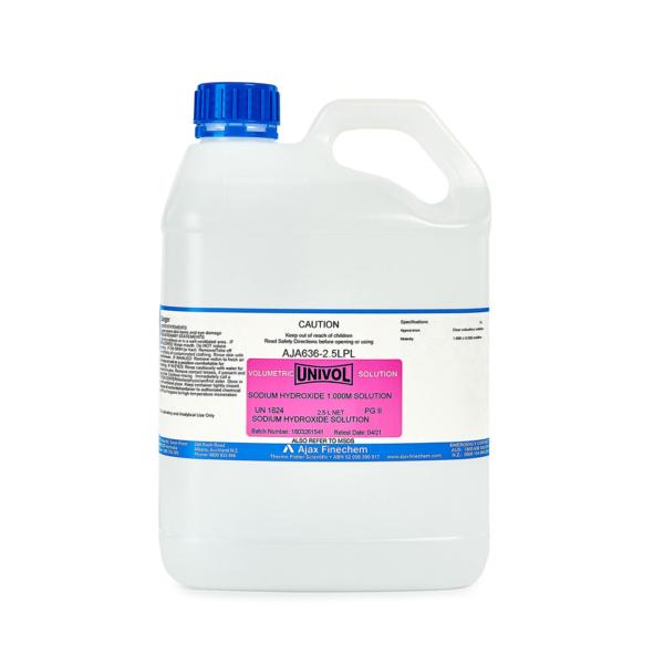 Sodium hydroxide 1-000M 2-5L
