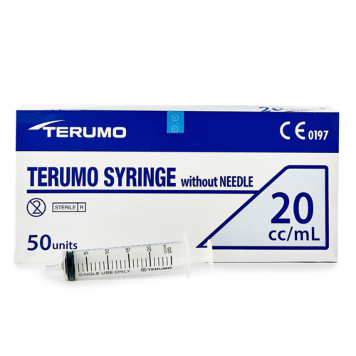 Syringe Disposable 20mL box of 50