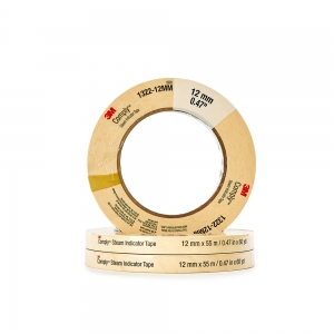 Tape steam autoclave 12mm wide 55M roll