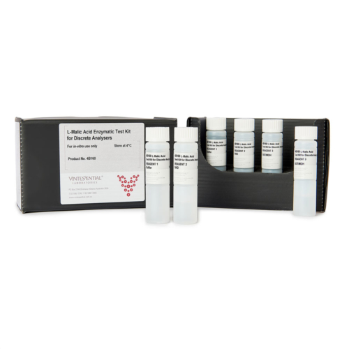 Test Kit for Discrete Analysers measuring L-malic acid in grape juice and wines for in vitro use only